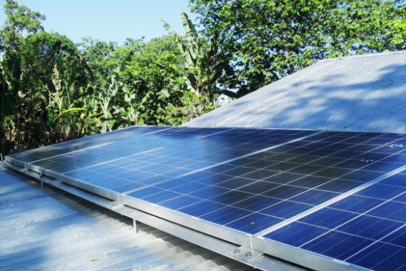 GTZ Mission Haiti, Solar Panels BioEnergy